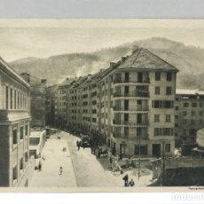 Arte: HUECOGRABADO ARTE BILBAO - FOTOGRAFÍA DE CALLE CON VIVIENDAS - 1948. Lote 234309865