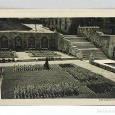 Arte: HUECOGRABADO ARTE BILBAO - JARDINES - MARQUES DE SANTA MARIA DEL VILLAR - 1948. Lote 234310045