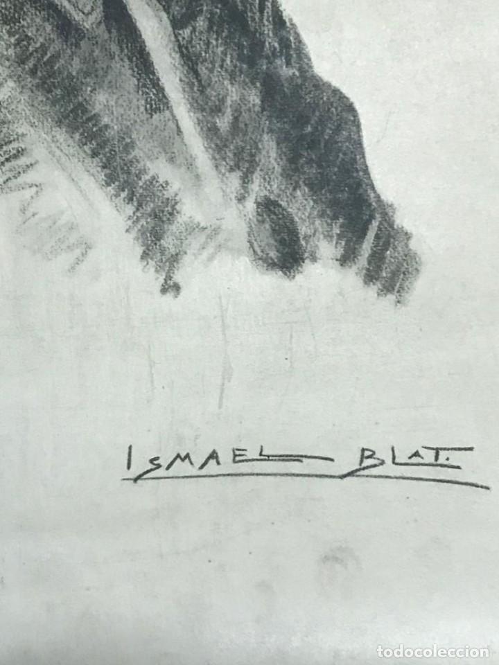 Arte: RETRATO DE FRANCISCO FRANCO POR ISMAEL BLAT- PRIMEROS HUECOGRABADOS DE HAUSER Y MENET - Foto 6 - 235363025