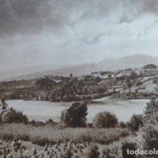 Arte: SALVATIERRA DE MIÑO ANTIGUO HUECOGRABADO 1928. Lote 275564418