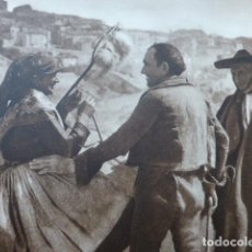 Arte: SEPULVEDA SEGOVIA TIPOS ANTIGUO HUECOGRABADO 1928. Lote 275565818