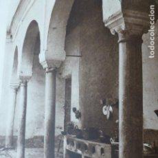 Arte: SEVILLA PATIO DE VECINOS ANTIGUO HUECOGRABADO 1928. Lote 275571688