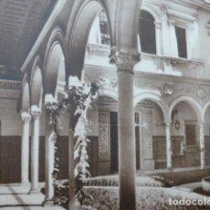 Arte: SEVILLA PALACIO DEL MARQUES DE ARACENA ANTIGUO HUECOGRABADO 1928. Lote 275571963