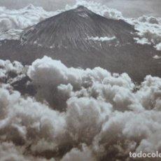 Arte: TENERIFE EL TEIDE ANTIGUO HUECOGRABADO 1928. Lote 275575263