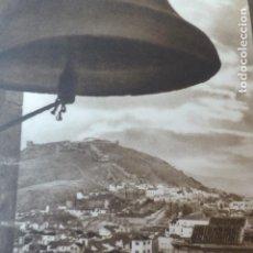 Arte: MALAGA VISTA DESDE LA CATEDRAL ANTIGUO HUECOGRABADO 1928. Lote 275576008