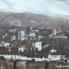 Arte: GRANADA VISTA ANTIGUO HUECOGRABADO 1928. Lote 275578938