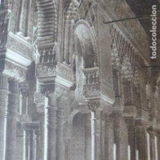 Arte: GRANADA LA ALHAMBRA ANTIGUO HUECOGRABADO 1928. Lote 275579113
