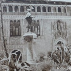 Arte: JATIVA VALENCIA HOSPITAL MUNICIPAL ANTIGUO HUECOGRABADO 1928. Lote 275581233