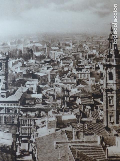 VALENCIA VISTA DESDE EL MIGUELETE ANTIGUO HUECOGRABADO 1928 (Arte - Huecograbado)