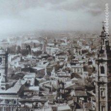 Arte: VALENCIA VISTA DESDE EL MIGUELETE ANTIGUO HUECOGRABADO 1928. Lote 275581343