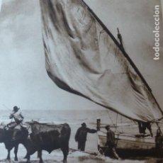 Arte: VALENCIA EL GRAO PLAYA DE MALVARROSA ANTIGUO HUECOGRABADO 1928. Lote 275581513