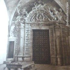 Arte: PALMA DE MALLORCA CATEDRAL CAPILLA DE SAN JERONIMO ANTIGUO HUECOGRABADO 1928. Lote 275582038