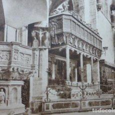 Arte: PALMA DE MALLORCA CATEDRAL ANTIGUO HUECOGRABADO 1928. Lote 275582108