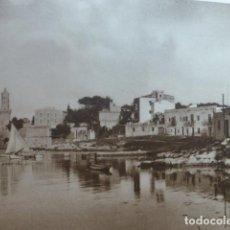 Arte: PALMA DE MALLORCA PORTO PI ANTIGUO HUECOGRABADO 1928. Lote 275582283