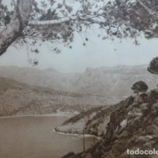 Arte: SOLLER MALLORCA PLAYA ANTIGUO HUECOGRABADO 1928. Lote 275582853