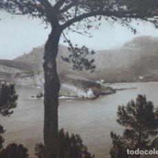 Arte: SOLLER MALLORCA CALA ANTIGUO HUECOGRABADO 1928. Lote 275582923