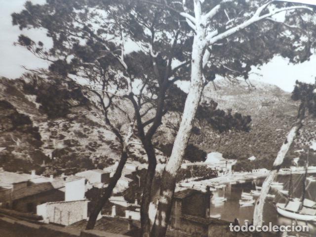 SOLLER MALLORCA PUERTO ANTIGUO HUECOGRABADO 1928 (Arte - Huecograbado)