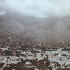 Arte: SOLLER MALLORCA VISTA DE LA CIUDAD ANTIGUO HUECOGRABADO 1928. Lote 275583093