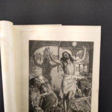 Arte: THE SHADOW OF DEATH DE HOLMAN HUNT, THE ART JOURNAL 1891, HUECOGRABADO. Lote 289434873