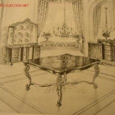 Arte: PROYECTOS DE MUEBLES CLASICOS--OBRA Nº 9--2ª ED. 1957.. Lote 14969501