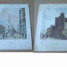 Arte: 2 LAMINAS .. THE STRAND Y ST.JAMES PALACE .. AÑOS 70 . Lote 21183022