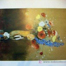 Arte: LÁMINA DE REDON. Lote 18562873