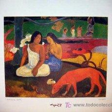 Arte: LÁMINA DE GAUGUIN. Lote 18545318