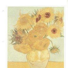 Arte: LAMINA IMPRESIONISTA DE VINCENT VAN GOGH = LOS GIRASOLES =. Lote 8138535