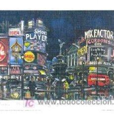 Arte: LAMINA LONDRES PLAZA PICCADILLY. Lote 25698317