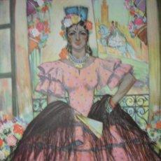 Arte: SEVILLA,TRAJES DE ESPAÑA. Lote 9098637