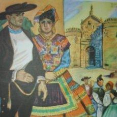 Arte: TOLEDO,TIPOS DE LAGARTERA,TRAJES DE ESPAÑA. Lote 15172143