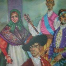 Arte: LEON ,MARAGATOS,TRAJES DE ESPAÑA. Lote 15125123