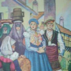 Arte: ANSO,HUESCA,OFRENDAS DEL AGUA Y DEL PAN,TRAJES DE ESPAÑA. Lote 15172131