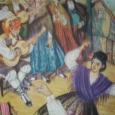 Arte: ZARAGOZA,JOTA ARAGONESA,TRAJES DE ESPAÑA. Lote 15172129