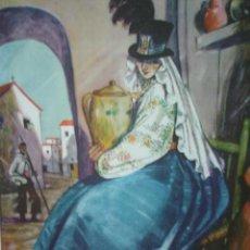 Arte: HUELVA,LA AMAZONA,TRAJES DE ESPAÑA. Lote 26124935