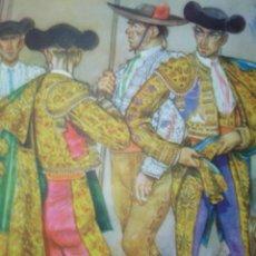 Arte: CORDOBA,EN EL PATIO,TRAJES DE ESPAÑA. Lote 26673802