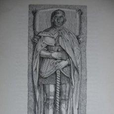 Art: DON ALVARO DE LUNA,ILUSTRACCION INGLESA AÑO 1893. Lote 18143604