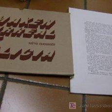 Arte: XAIME QUESSADA - ORENSE GALICIA - CARPETA TITULADA ' IMAXEN SURREAL DE GALICIA '- 1977 45 LÁMINAS +. Lote 296773523