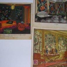 Arte: 3 LAMINAS ANTIGUAS 21'50X19'50. Lote 5768207