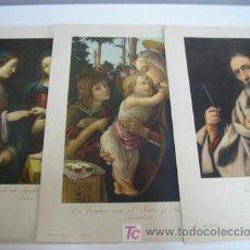 Arte: 3 ANTIGUAS LAMINAS EDICIONES BARSAL - 32X24. Lote 9122488