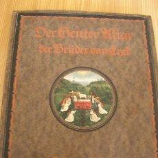 Arte: DER VENTER ULTAR-VON HUBERT UND JAN VAN END - IN FARBIGER WIEBERGABE NACH DEN ORIGINALEM-1921.. Lote 26228638