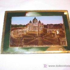 Arte: PRECIOSO CUADRO DE LA PLAZA DE SAN PEDRO DE ROMA. Lote 20651638