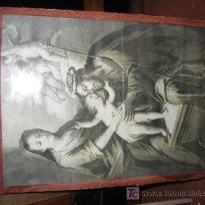Arte: LAMINA SAGRADA FAMILIA. Lote 27022185
