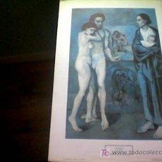 Arte: PICASSO: LA VIDA. LÁMINA DE 1983. REPRODUCCIÓN AUTORIZADA. Lote 16122537