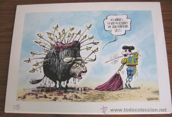 Arte: CINCO AÑOS DE RISA .. 1990-1995 .. Lo mejor de Ricardo y Nacho .. 25 láminas coloreadas - Foto 2 - 23463851