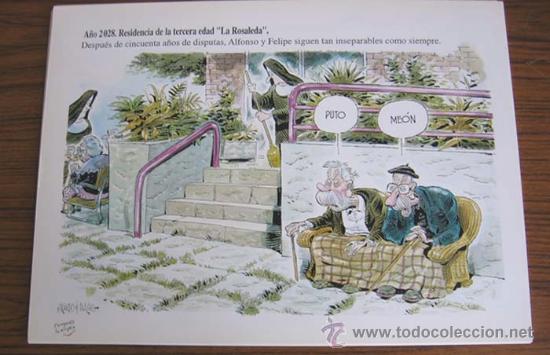 Arte: CINCO AÑOS DE RISA .. 1990-1995 .. Lo mejor de Ricardo y Nacho .. 25 láminas coloreadas - Foto 3 - 23463851