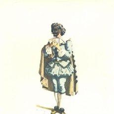 Arte: LAMINA IMPRESA .. BELTRAME 1613 .. CON DESCRIPCIÓN AL REVERSO . Lote 16970490