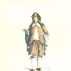 Arte: LAMINA IMPRESA .. NARCISINO 1650.. CON DESCRIPCIÓN AL REVERSO . Lote 17247513
