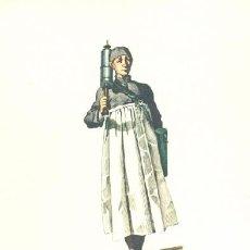 Arte: LAMINA IMPRESA .. L APOTHICAIRE 1645 .. CON DESCRIPCIÓN AL REVERSO . Lote 17432923