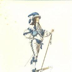 Arte: LAMINA IMPRESA .. ORAZIO 1645 .. CON DESCRIPCIÓN AL REVERSO . Lote 17956187